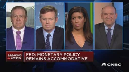 Market experts react to the Fed decision