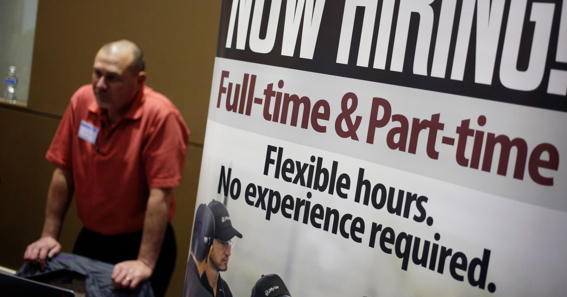 Employers are hiring, but don't expect a bigger paycheck