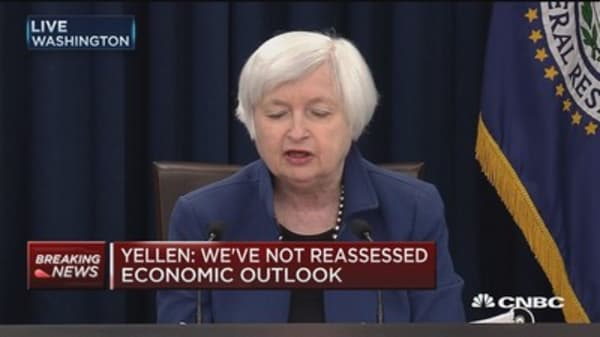 Yellen: 2.1% median growth projection for 2017, 2018