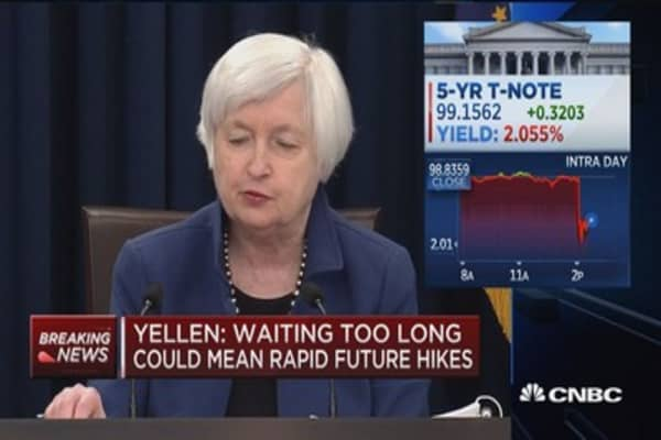 Yellen: Economic policies could potentially effect economic outlook