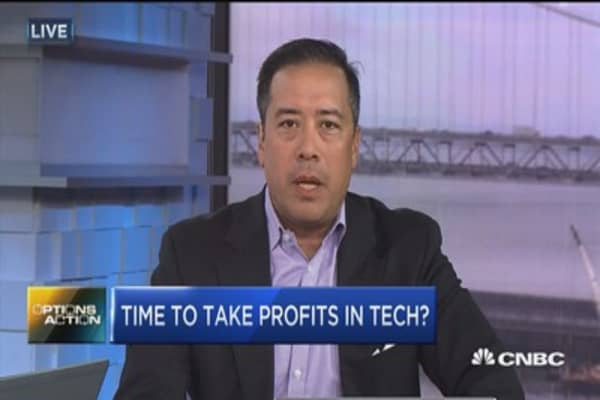 Options Action: Time to take profits in tech?