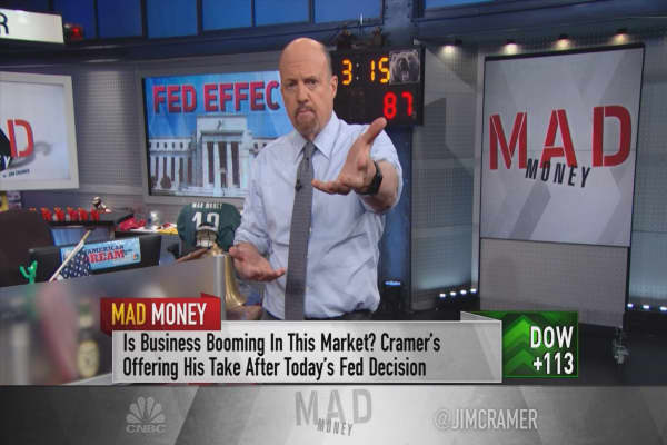 Cramer: Why the Fed is a gift to your portfolio