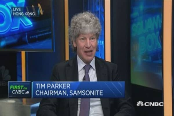 Tumi acquisition boosted results: Samsonite chairman