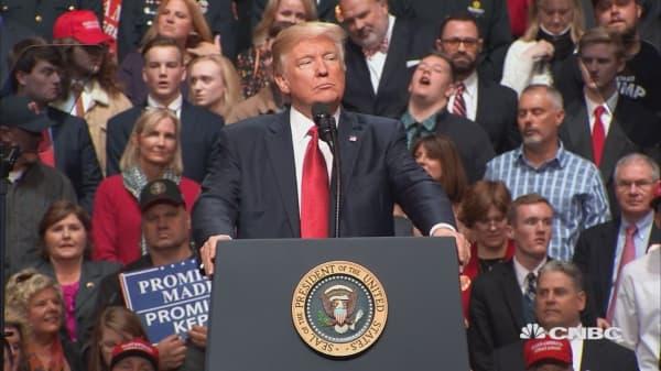 Trump on travel ban block: Unprecedented judicial overreach