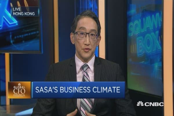 Why SaSa is positive about the future