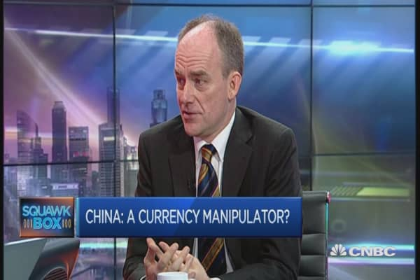 On currency front, 'China is doing okay'