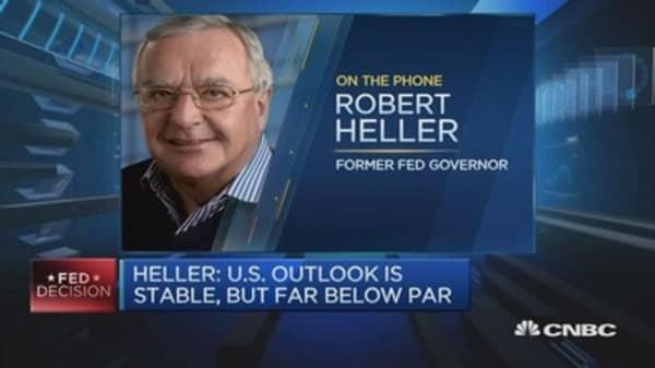 US interest rates should really be 3%: Robert Heller