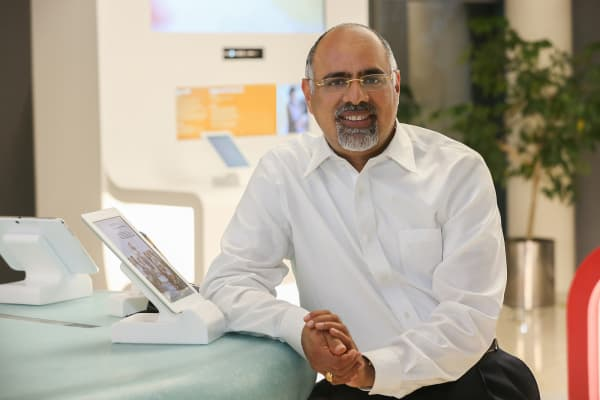 Mastercard's chief marketing officer, Raja Rajamannar