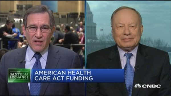 Santelli Exchange: American Health Care Act funding