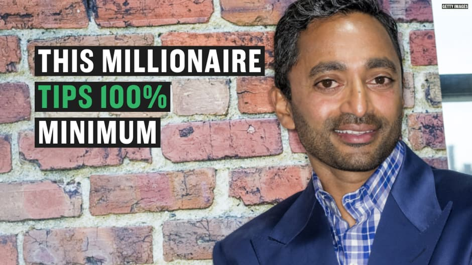 Facebook alum and venture capitalist explains why he always tips 100%