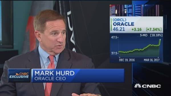 Oracle CEO on earnings, strategy