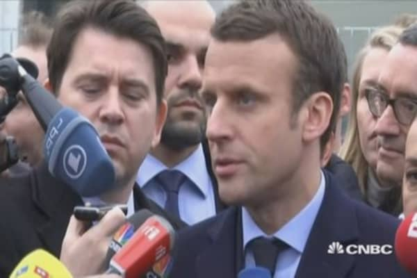 Willing to restore strong confidence between France and Germany: Macron