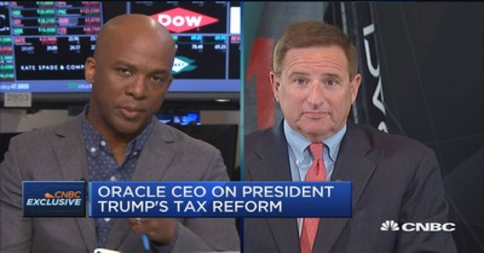 Oracle's Hurd: Cloud shift will not result in mass layoffs