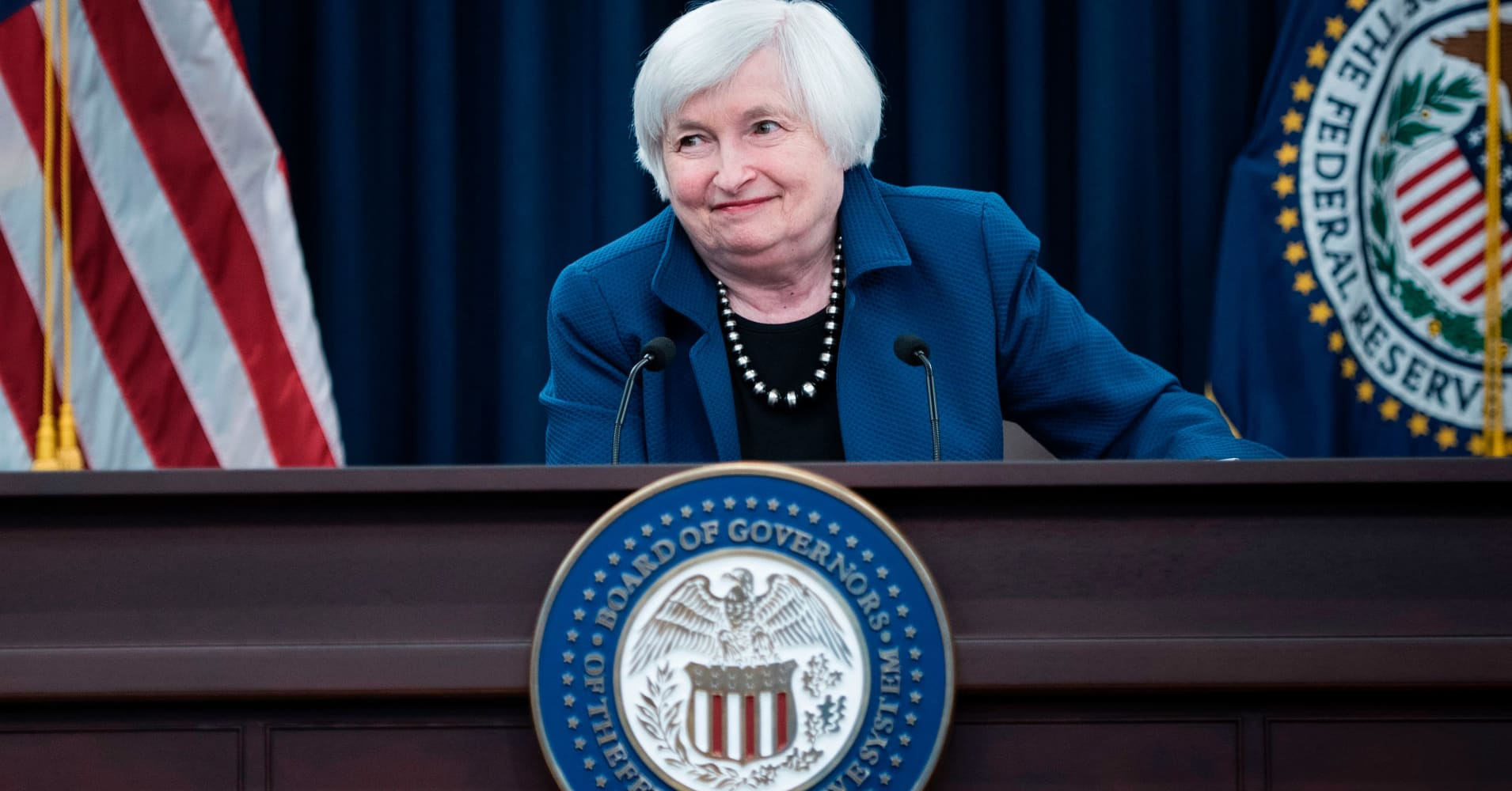 Fed says Yellen was hospitalized for a few days, returning to work this week