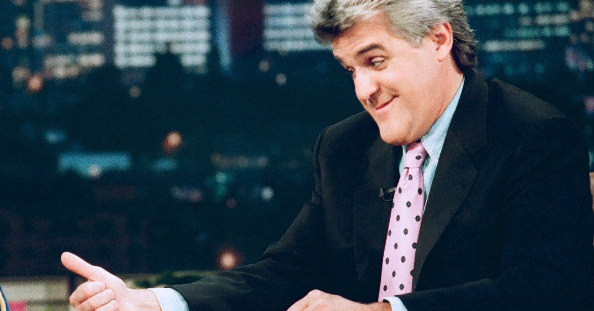 "Jay Leno, former host of NBC's  ""The Tonight Show"""
