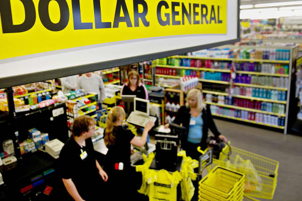 A Dollar General store in Creve Coeur, Illinois.