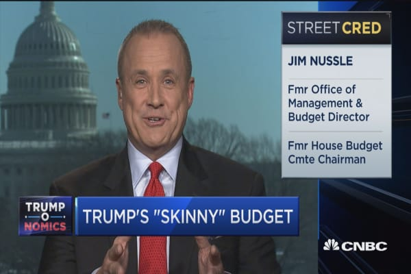 Former OMB director: Trump's budget blueprint is not 'just show'