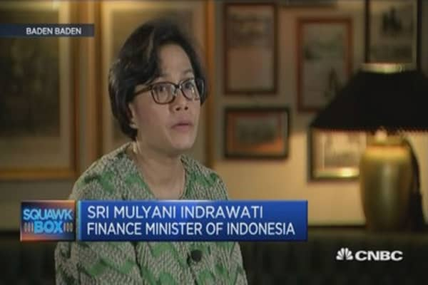 Indonesia FinMin on the impact of a stronger dollar