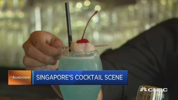 Bottoms up: Singapore's burgeoning cocktail scene