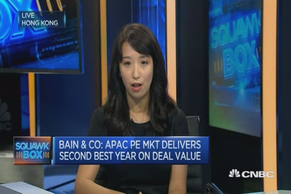 PE market eased slightly in 2016: Bain & Company