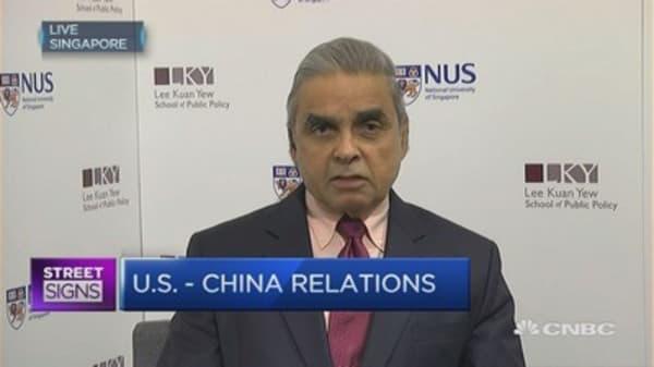 Both China and US need each other: Mahbubani