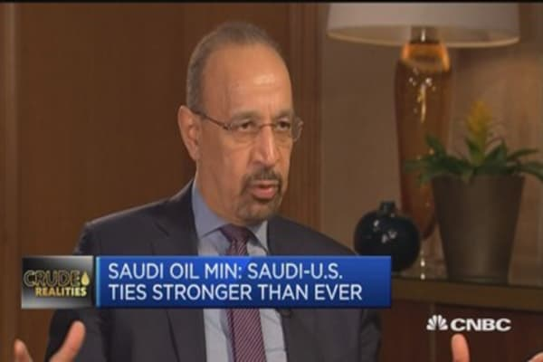Saudi-US ties stronger than ever: Saudi oil min
