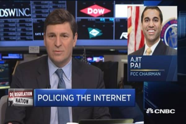 FCC in key focus in deregulation talks: David Faber