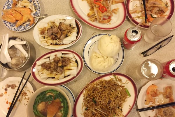 Wedding lunch in Chinatown
