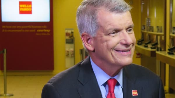Tim Sloan, CEO of Wells Fargo.