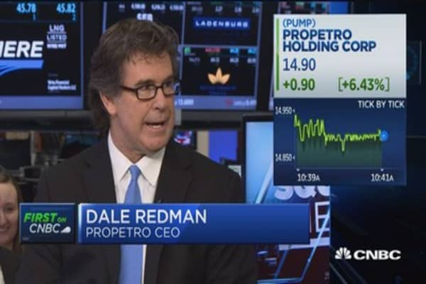 ProPetro CEO: IPO gives opportunites as employee base and customer base align