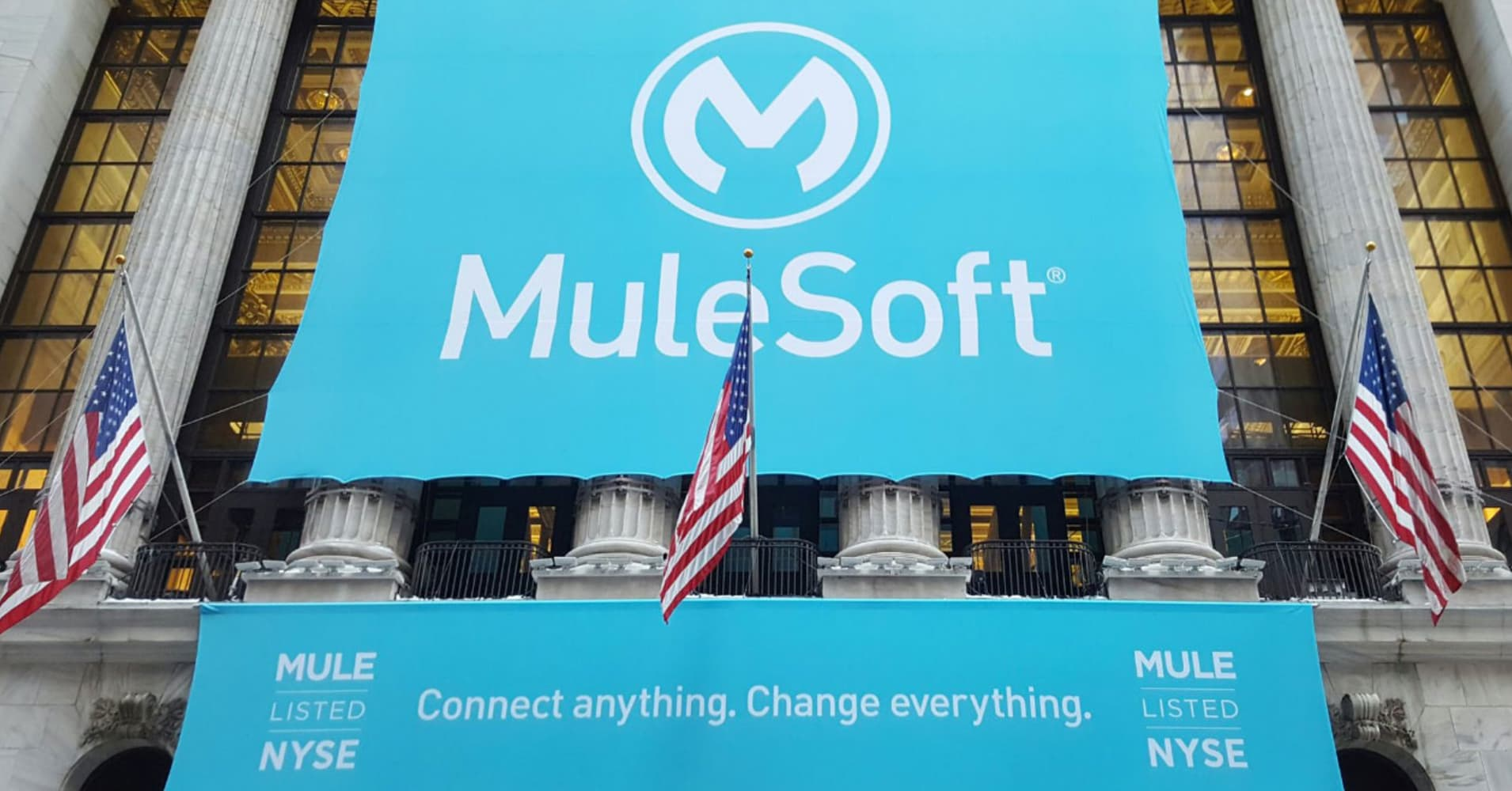 When did mulesoft ipo