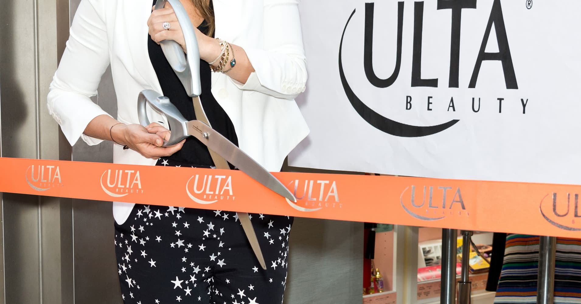 Store opening at an ULTA Beauty store in Philidelphia