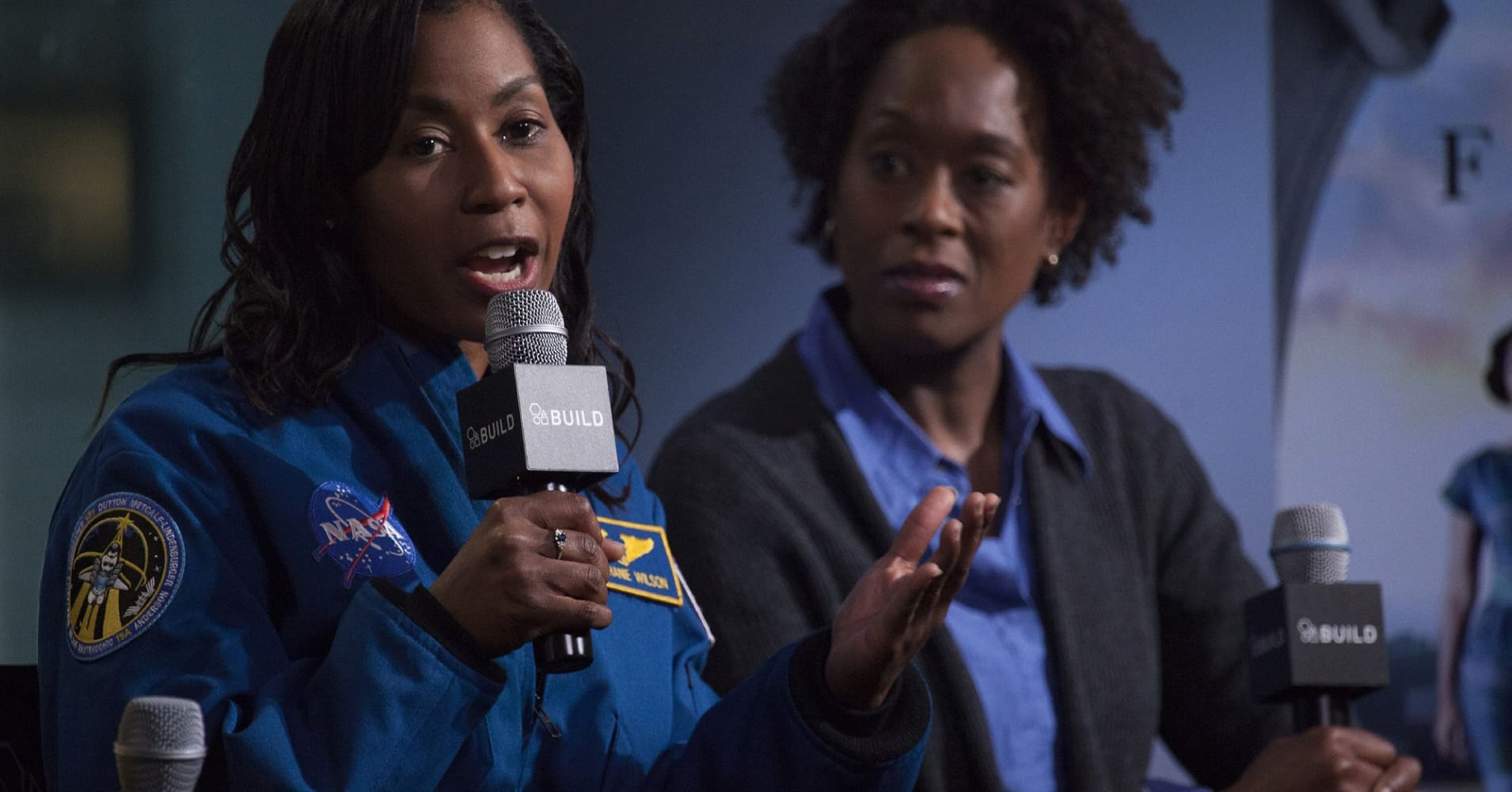 NASA Astronaut Stephanie Wilson and author Margot Lee Shetterly