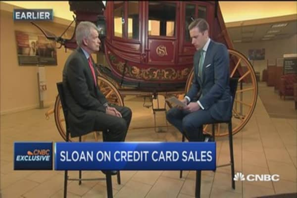 WFC's Sloan: We let our shareholders down