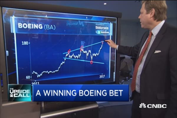A winning Boeing bet