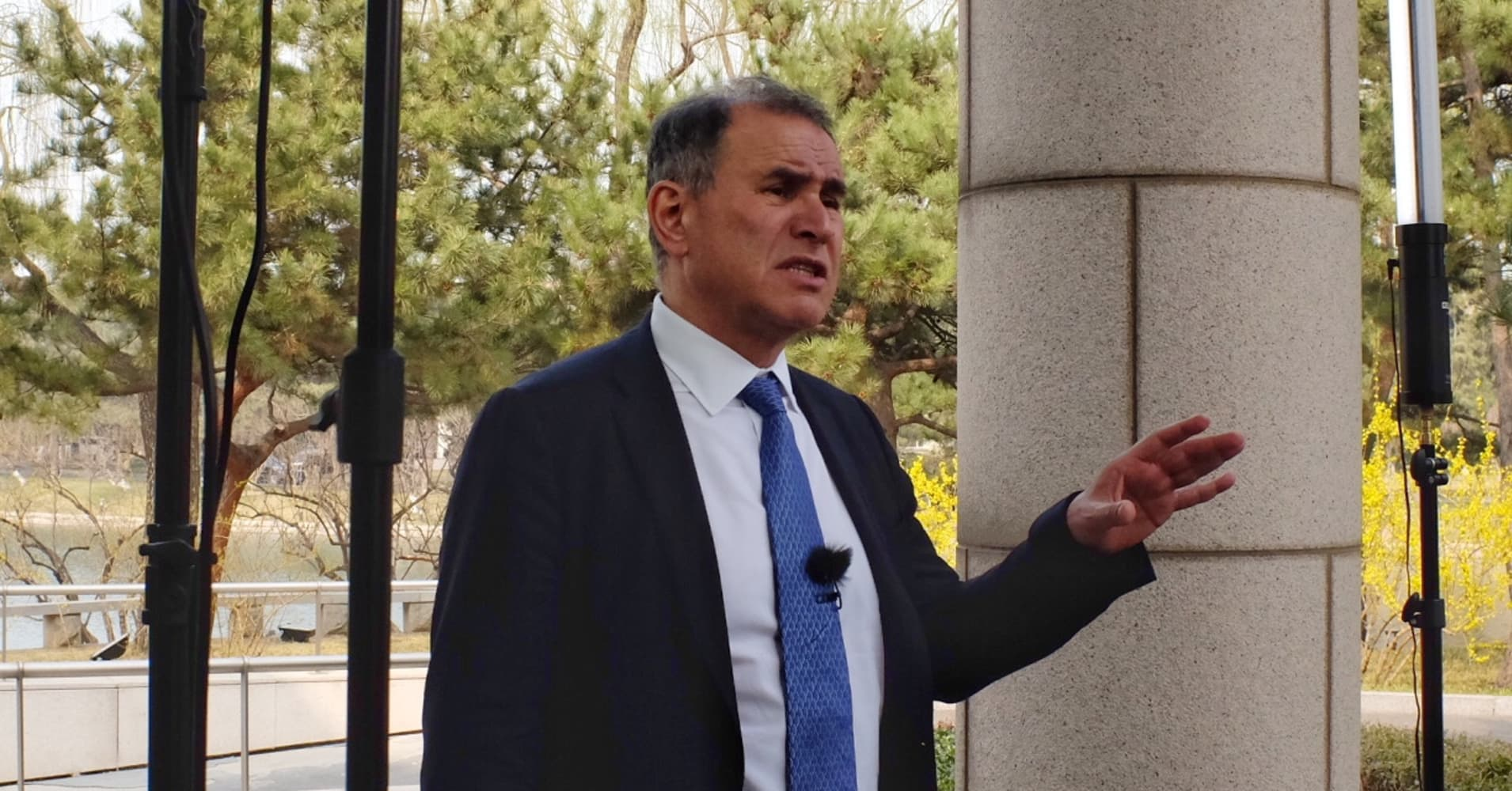 China Development Forum: Nouriel Roubini warns markets ...
