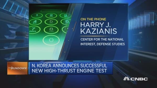 North Korea ICBM launch 'inevitable' this year