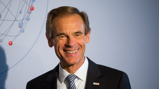 Volkmar Denner, chief executive officer of Robert Bosch GmbH
