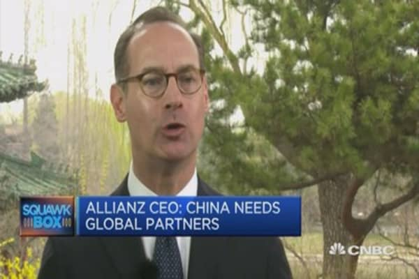 US is main beneficiary of globalization: Allianz CEO