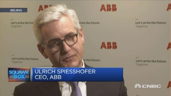 'Pretty certain' of a US-China battle in future: ABB CEO
