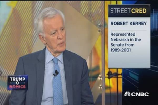 We're robbing from the future to pay for the past: Robert Kerrey