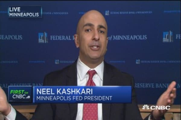 Fed's Kashkari's: Labor market not fully recovered