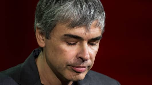 Google cofounder and Alphabet CEO Larry Page.