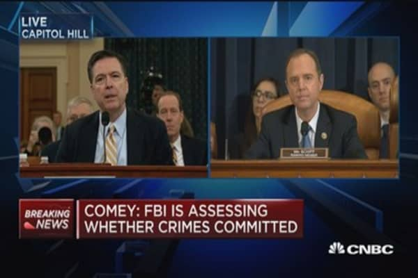 Comey: I have no information to support Trump wiretap tweets