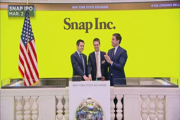 One Wall Street firm has faith Snap is a good