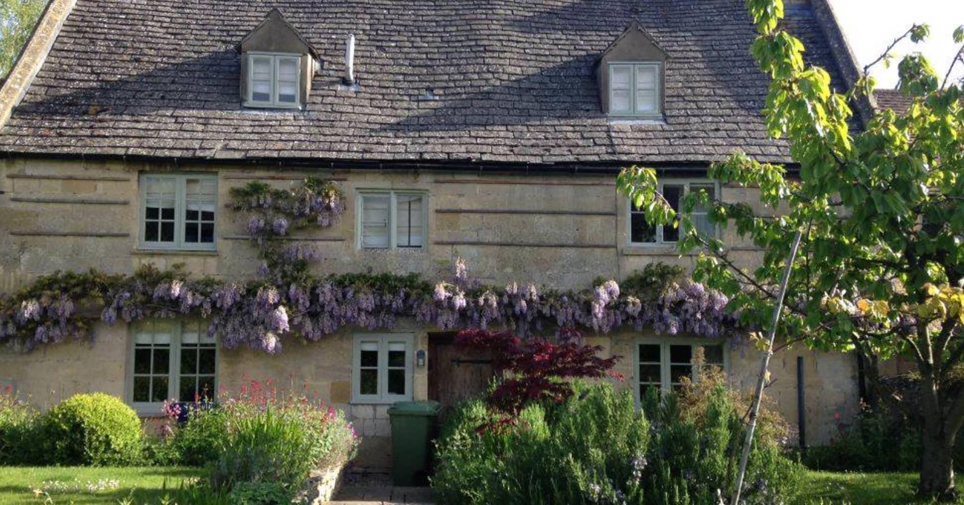 A property in England's bucolic Cotswolds region.