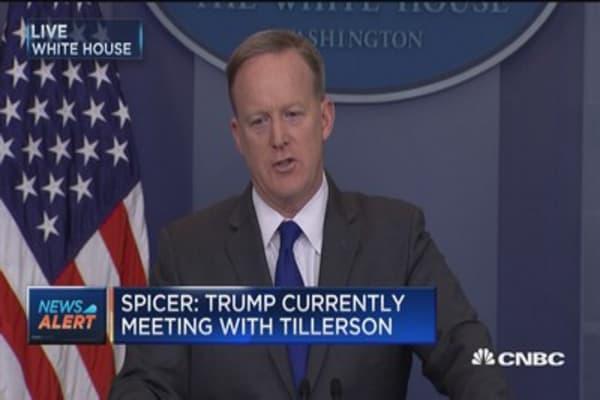 Spicer: Presidents always travel