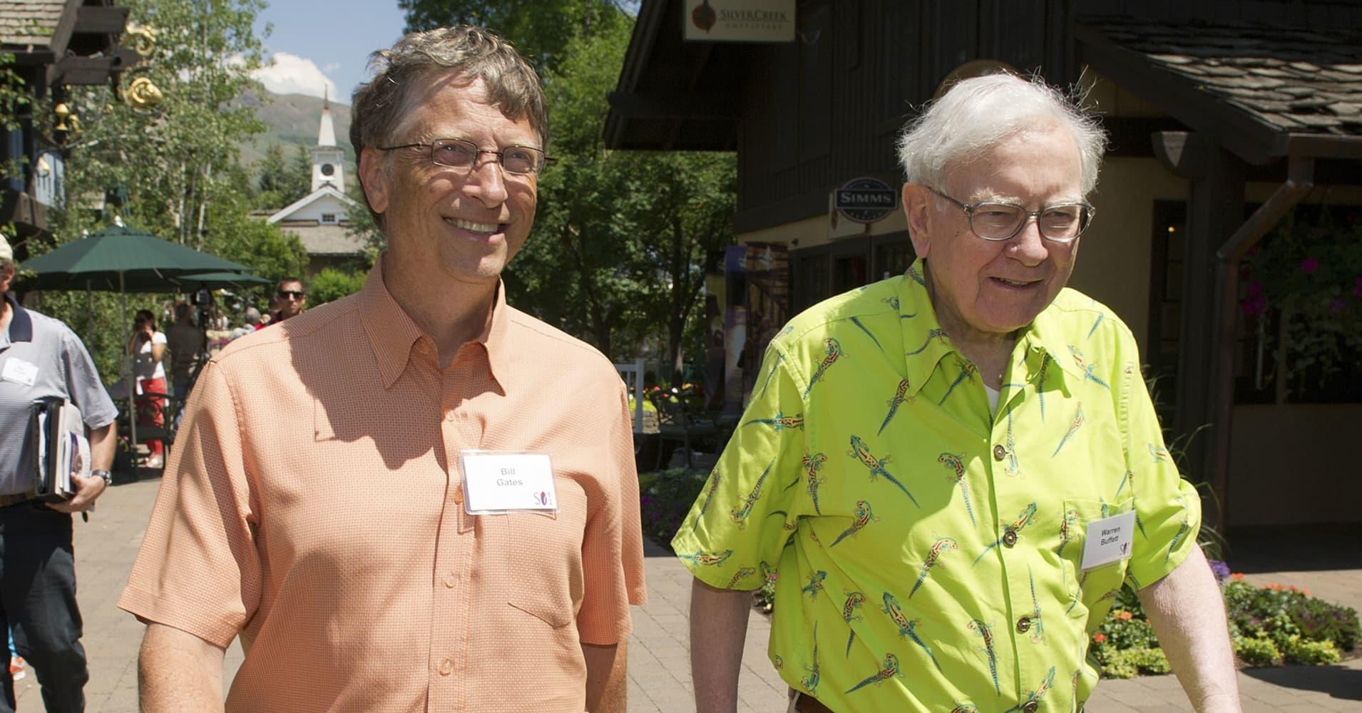 How Warren Buffett S Measure Of Success Shaped 2018 For Bill Gates