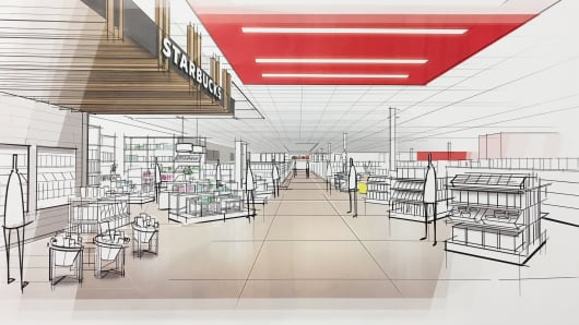 Target design elements Next generation stores.
