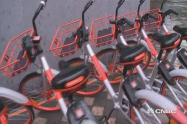Mobike's smart bikes don't get lost